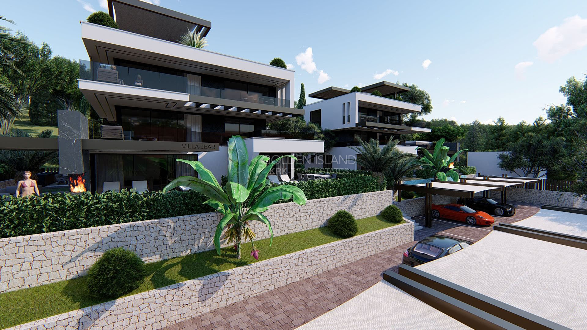 Otok KRK, ekskluzivna villa na Top lokaciji