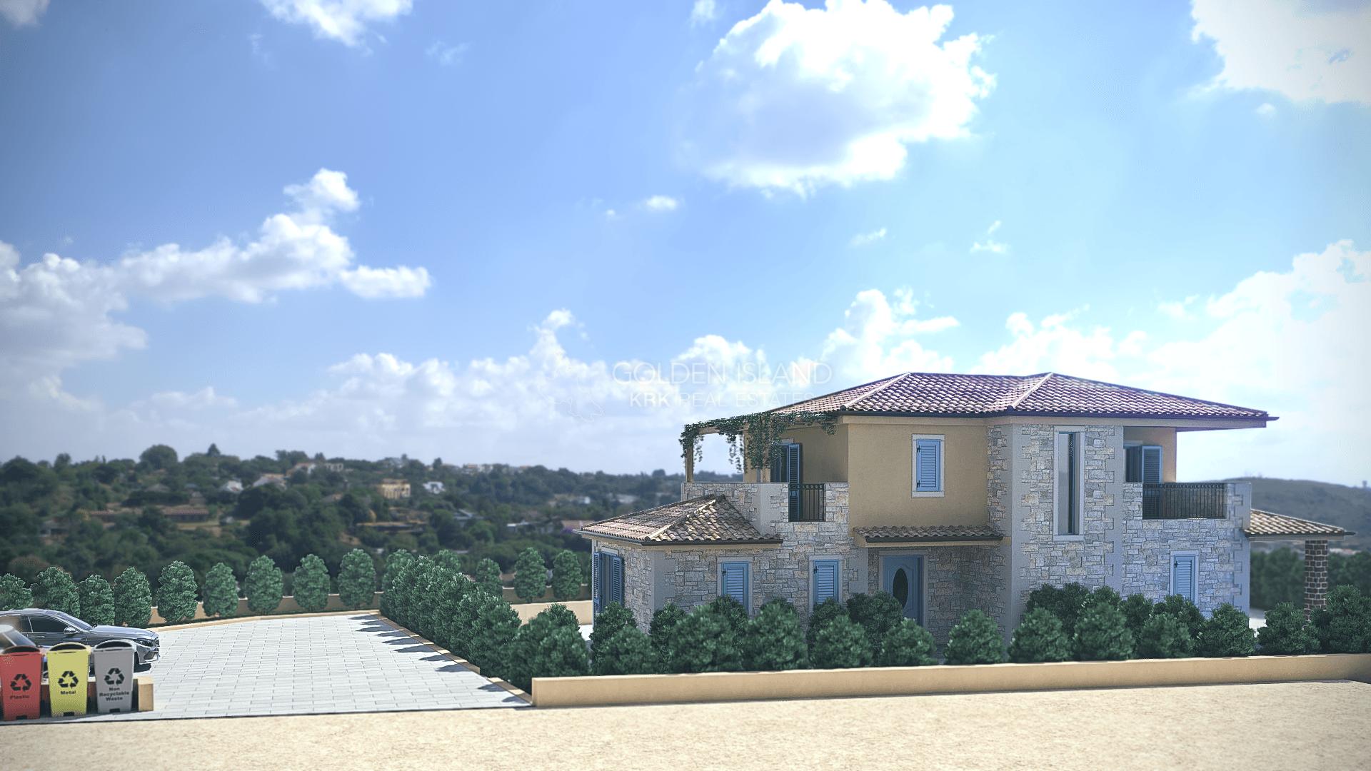 Malinska okolica, Nova kamena kuća!