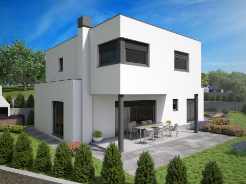 Otok KRK, moderna obiteljska villa!