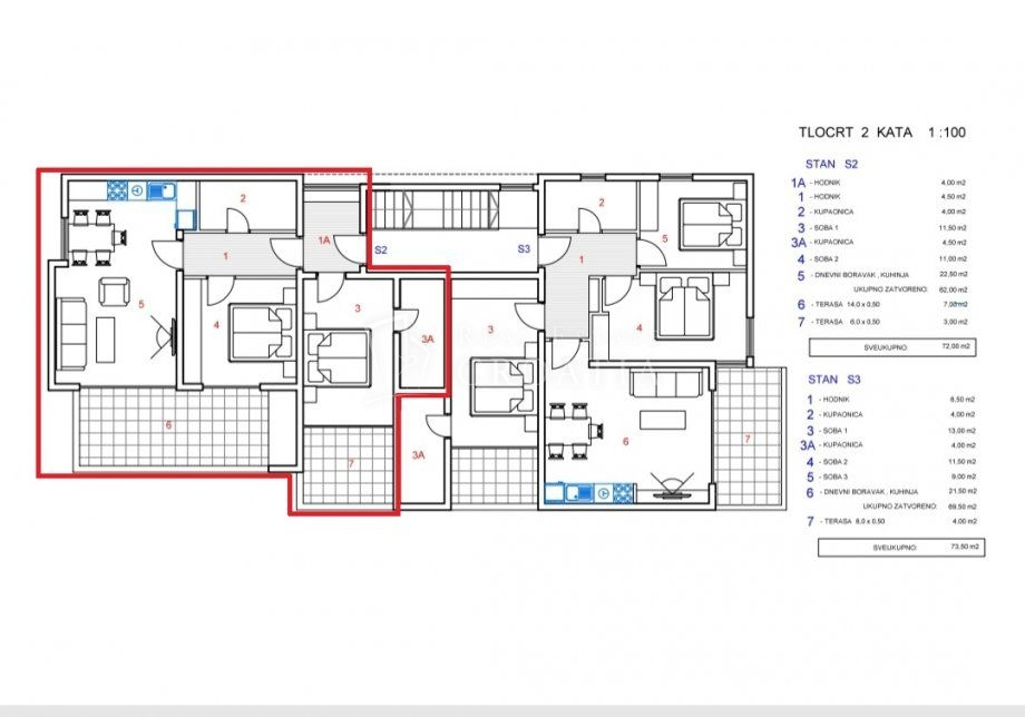 Apartment Pag, 72m2