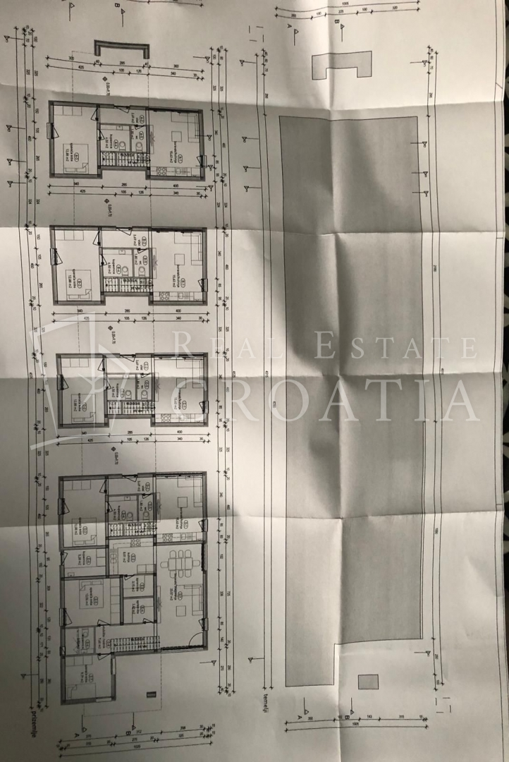 Privlaka prodaja projekta, 5 apartmana, 998m2
