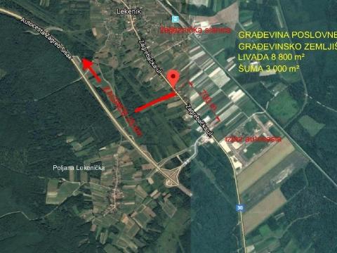 Lekenik, zemljište 24 168 m² - prilika!