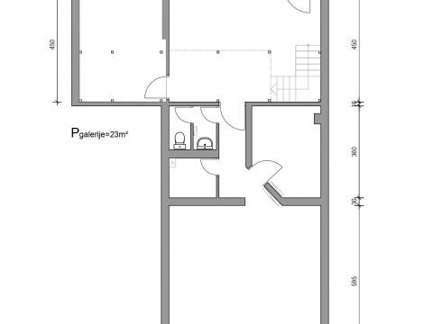 Poslovni prostor u Maksimiru, 105 m2