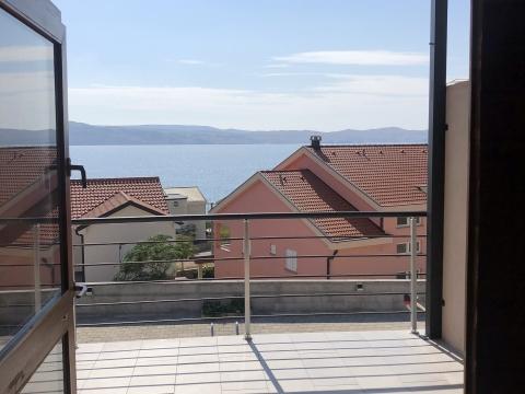 Karlobag, Bojna Draga, apartman sa pogledom na more