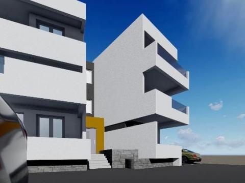 Novalja, apartman A4-72m2 sa pogledom na more
