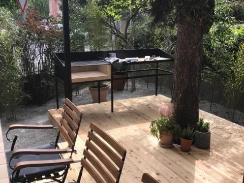 Ravnice (Krešićeva) dizajnerski 4s stan 105 m2, vrt, mirno okruženje