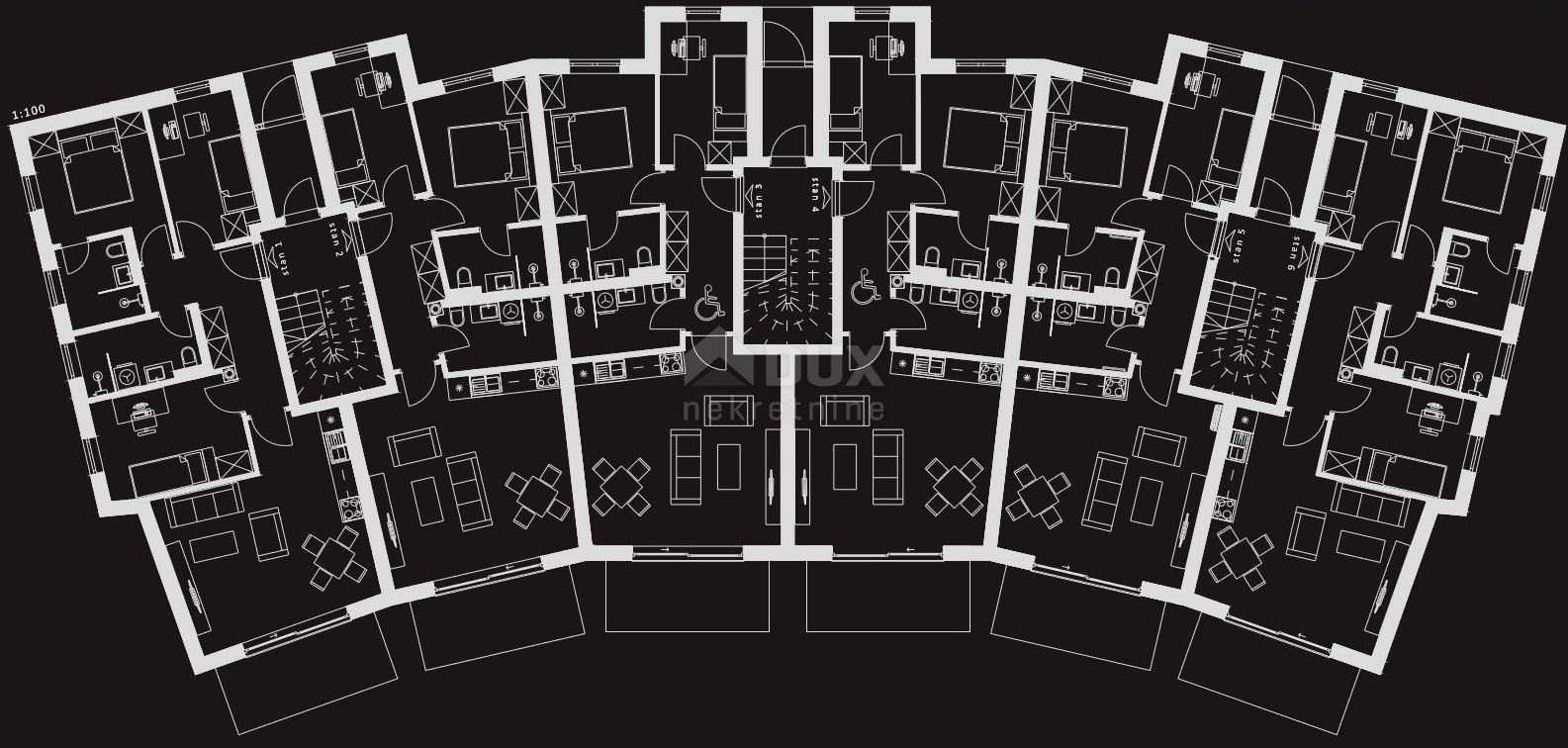Stan Krk - 2S+DB, sa okućnicom i parkirnim mjestima