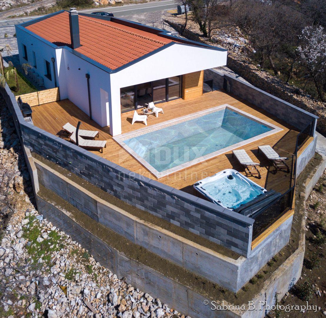 Kuća  Kostrena, moderna novoizgrađena prizemnica
