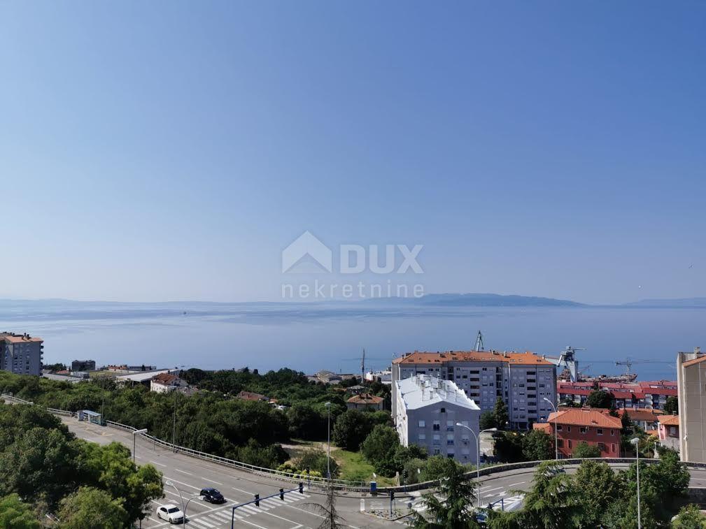 RIJEKA, KRNJEVO - Stan s panoramskim pogledom na more