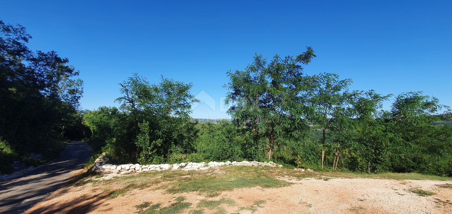ISTRA, LABIN - Građevinsko, otvoreni pogled
