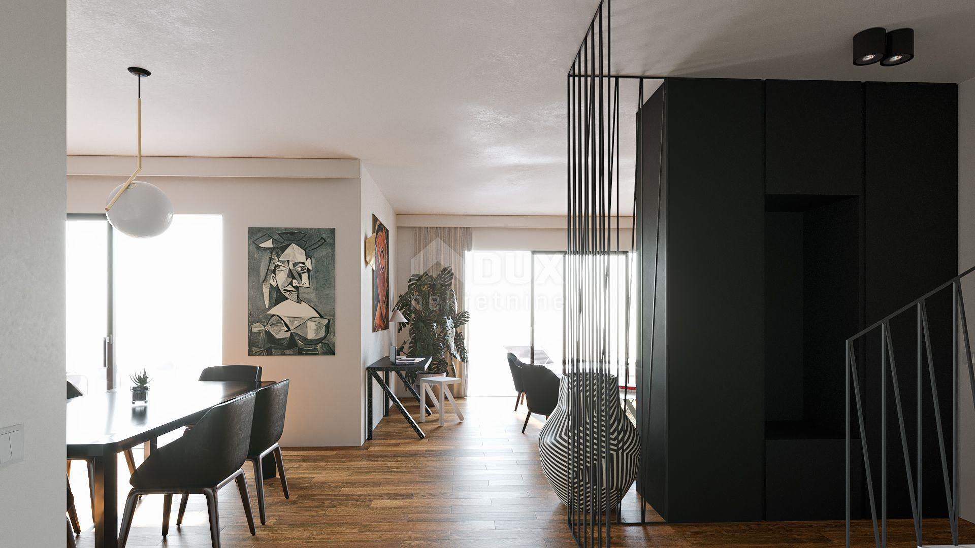 KOSTRENA - luksuzna rezidencija u atraktivnoj vili - bazen, garaža, panoramski pogled na more