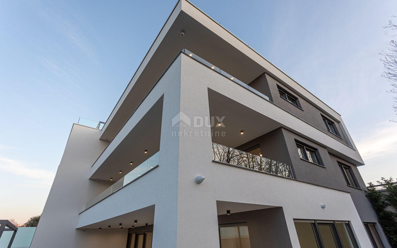 Otok Krk, Malinska - luksuzni apartman 3S + DB u blizini more s krovnom terasom