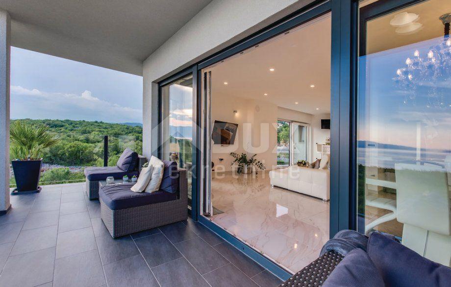 Stan etaža Kostrena, Doričići - 2s+db 120m², novogradnja, prodaja