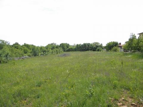 LABIN BENECI građevinsko zemljište 3500m2