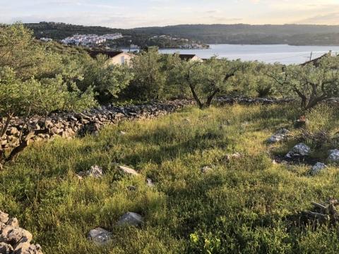 ŠOLTA - građevinski teren 6200m2 za obiteljsku kuću / villu / apartmane / kuću za iznajmljivanje sa bazenom / kuću za odmor sa bazenom