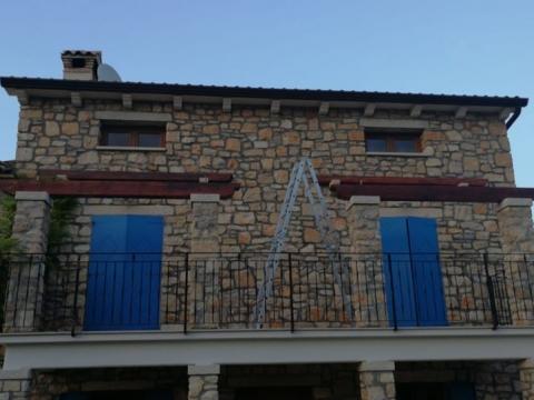 LABIN - Luksuzna kamena kuća s bazenom