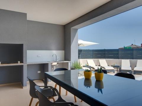 Moderne Villa mit Pool, Skatari, Pula, 180m2
