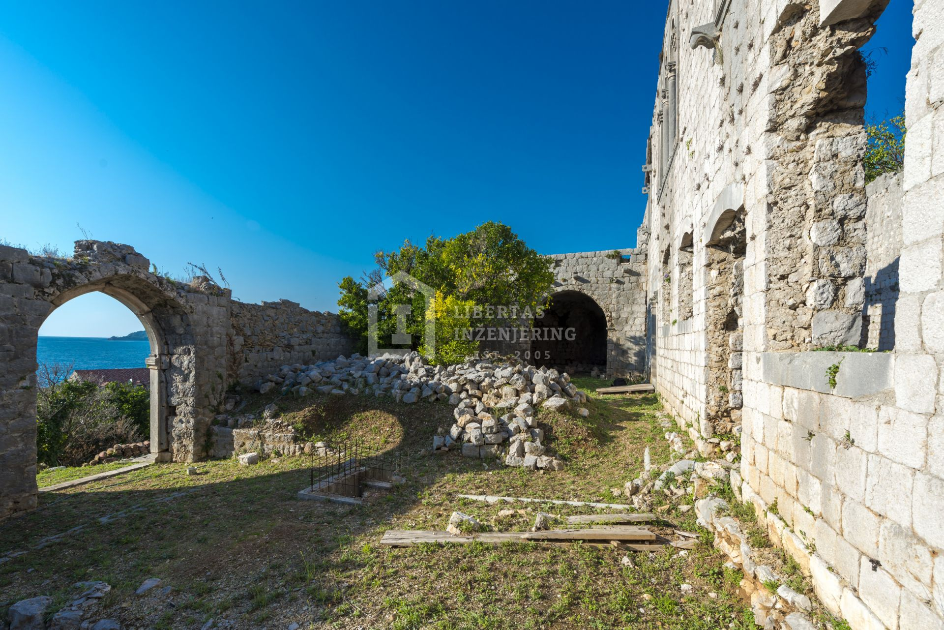 Rector's palace in Lopud island / RARITY