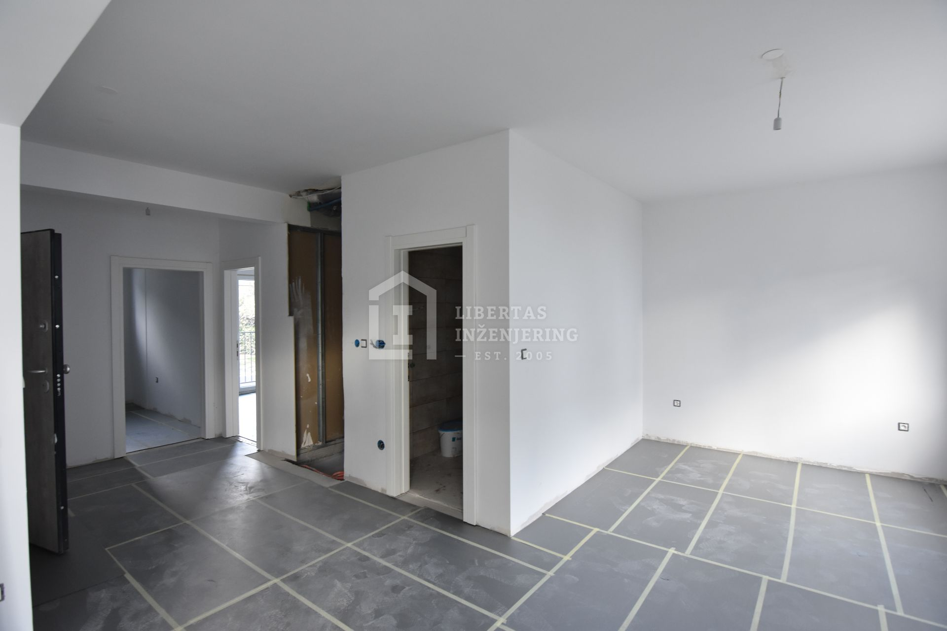 Two floor apartment with garage in Župa dubrovačka / NEW BUILD