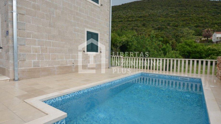 Dubrovnik (Konavle),kamena vila s bazenom, parking / NOVOGRADNJA