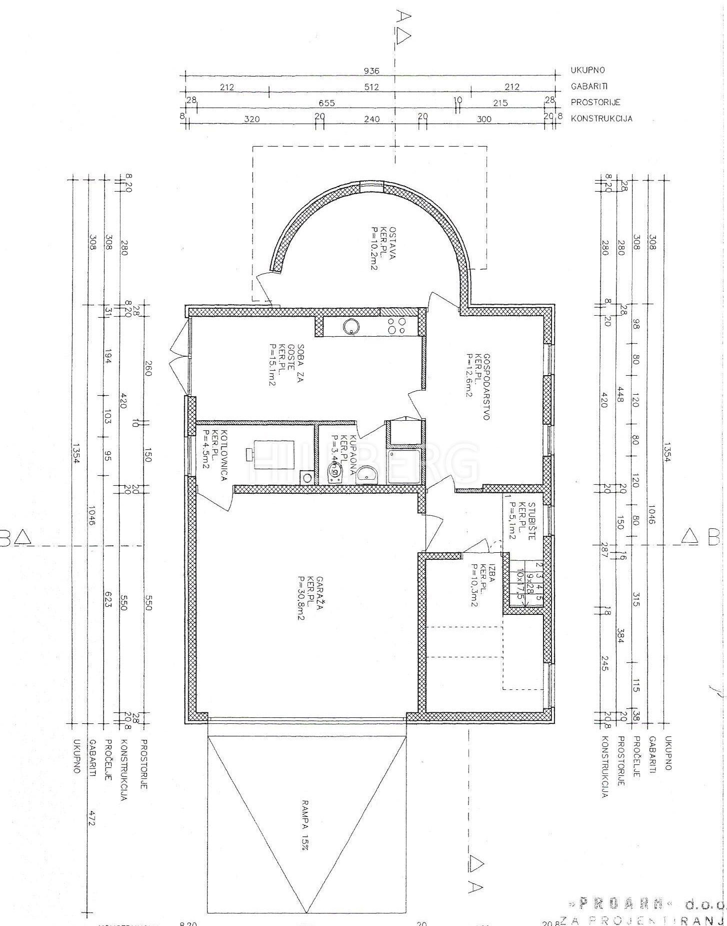 PANTOVČAK - LUX VILA: 350 M2, 6 SOBA, 5 KUPAONICA, GARAŽA
