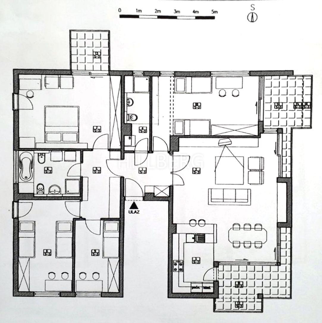 SALE, APARTMENT, ZAGREB, PANTOVČAK, 5-ROOMS, 2 GARAGES, TERRACE