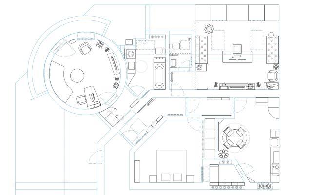 STAN S KUPOLOM - ARHITEKTONSKI DRAGULJ ART DECO-A - KROVNA TERASA 50 M2