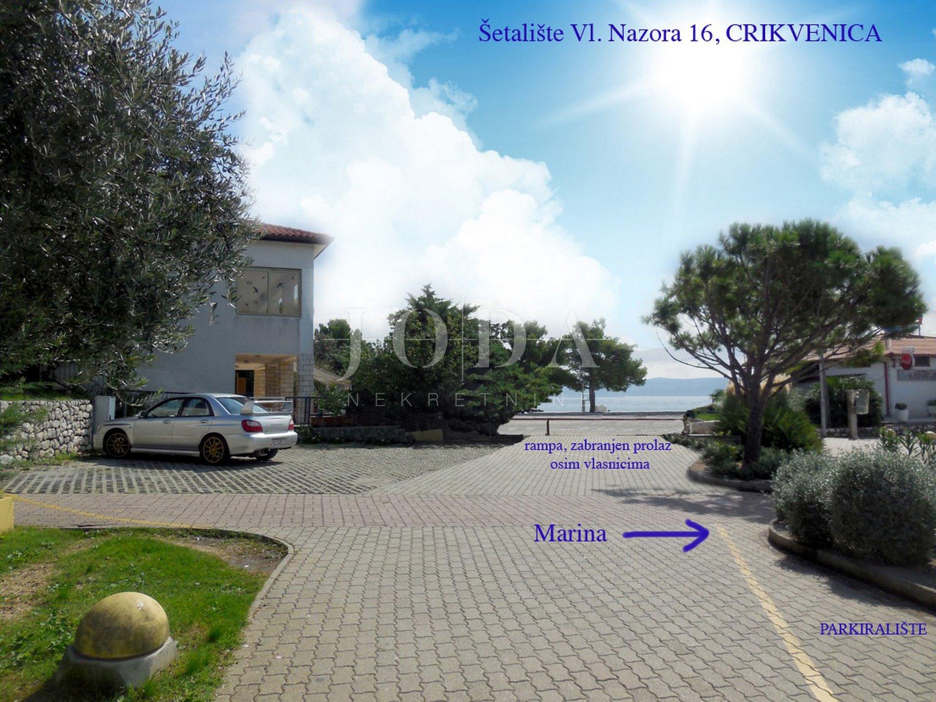 Crikvenica kuća 1.red do mora na samoj plaži