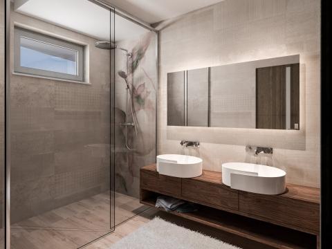 Malinska apartman sa bazenom Rova