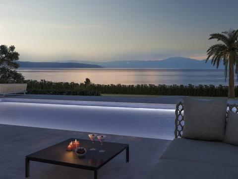 Malinska luksuzni stan 1.red do mora