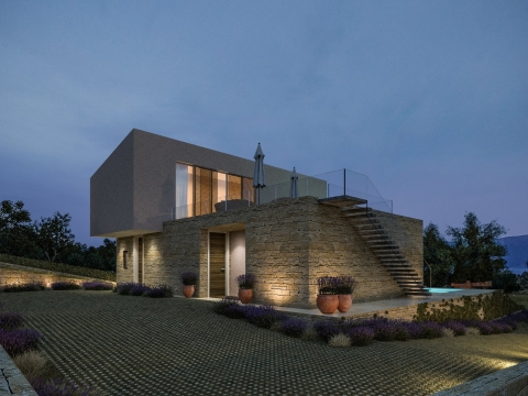 Krk moderna vila