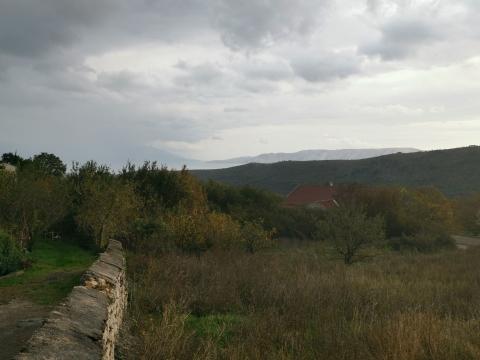 Bribir zemljište sa pogledom na more