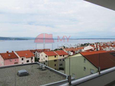 Novogradnja, stan s predivnim pogledom na more