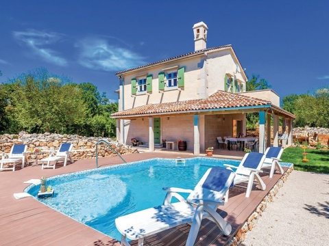 Beautiful villa built in authentic style