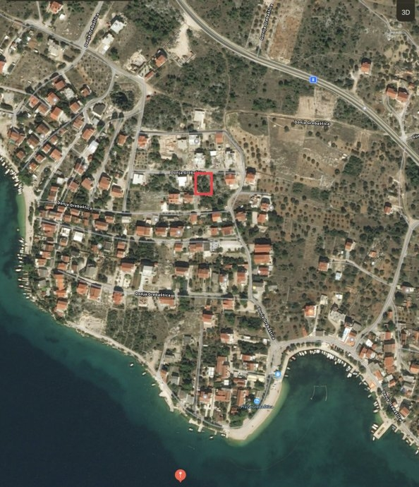 Građevinsko zemljšte u Grebaštici-575m2
