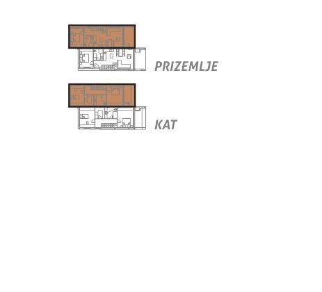 Novi objekti u Vodicama- dvojne kuće
