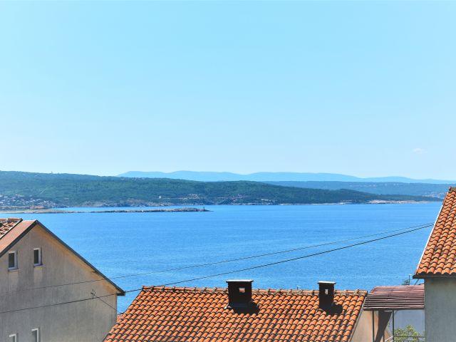 CRIKVENICA - NOVOGRADNJA - Vrhunski stan sa velikom terasom i pogledom na more