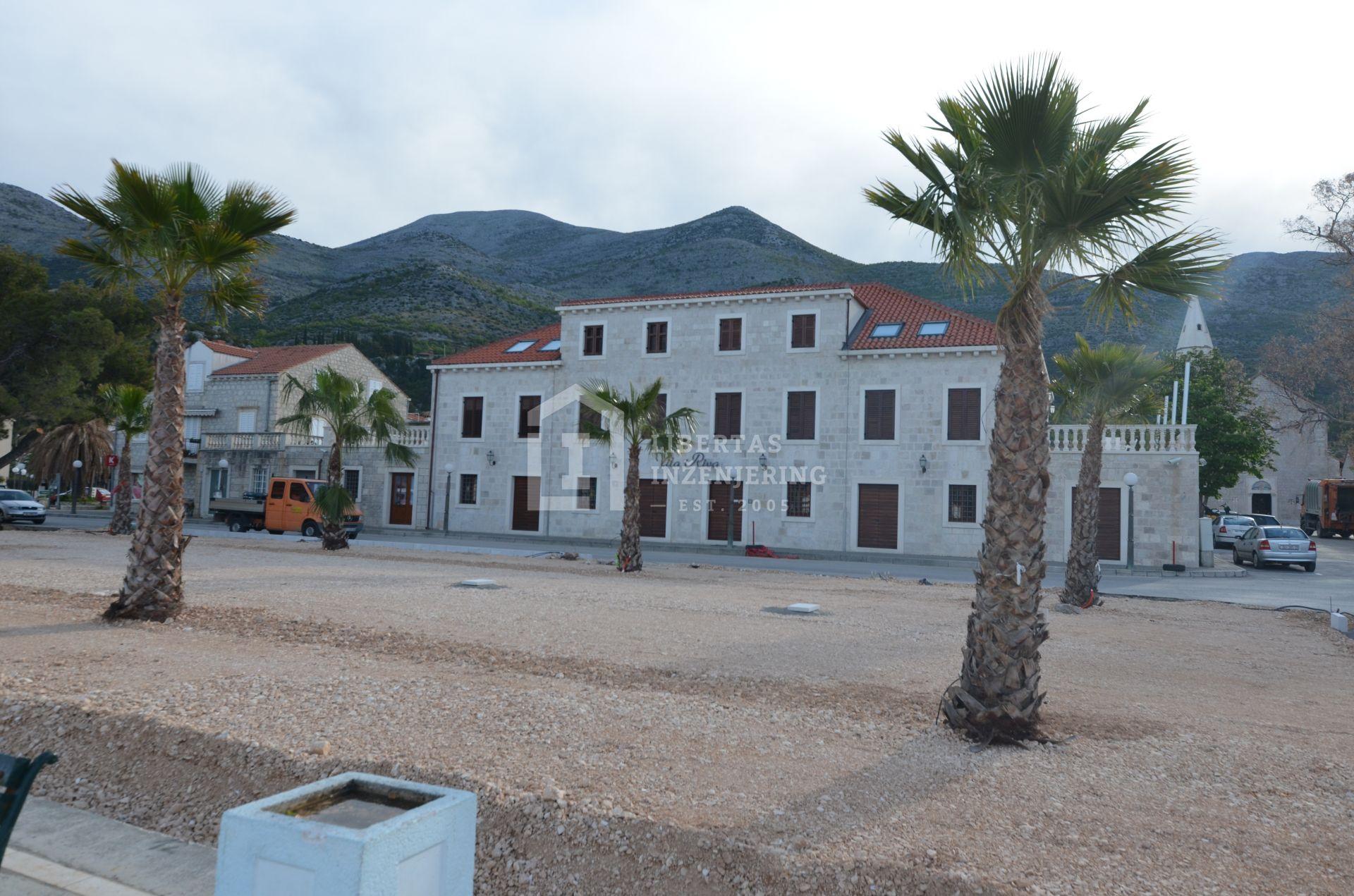 Main square in Slano
