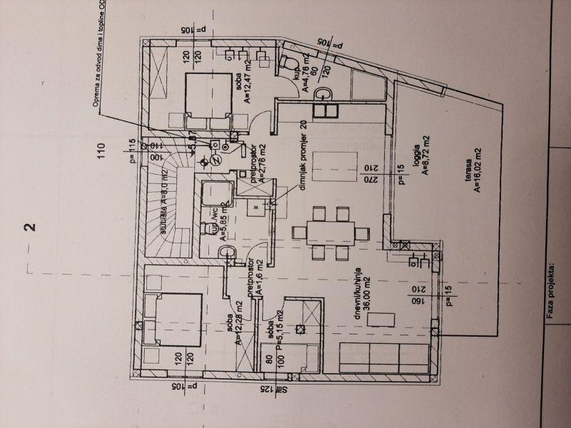 PULA: Trosobni stan u NOVOGRADNJI