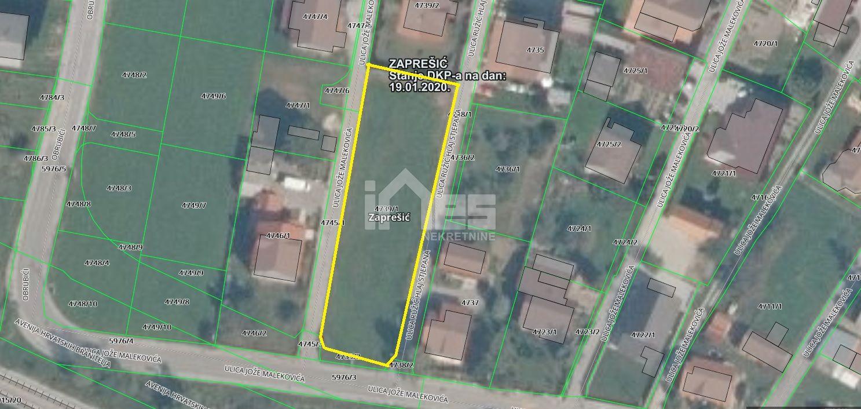 Građevinsko zemljište u centru Zaprešića
