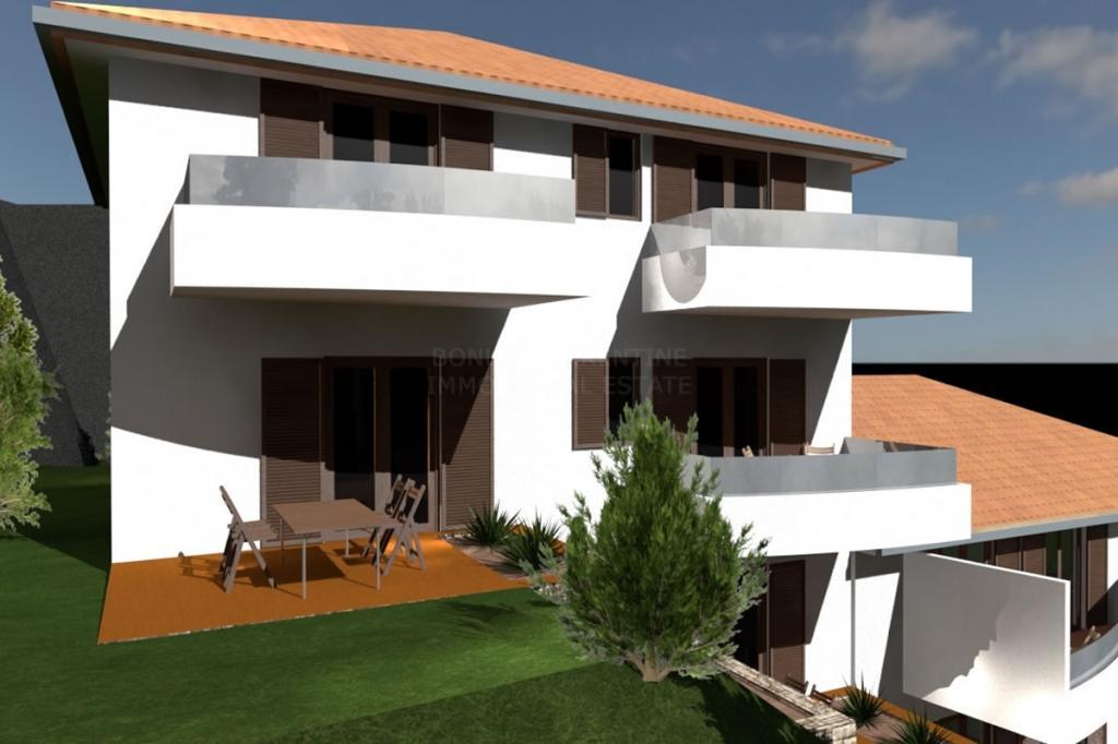 Primošten, novogradnja, atraktivan stan na mirnoj lokaciji