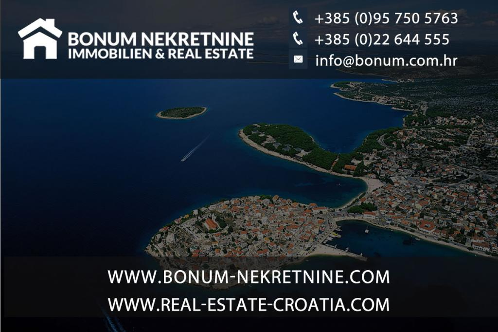 Murter, a new luxury new apartment with pool and beautiful sea view