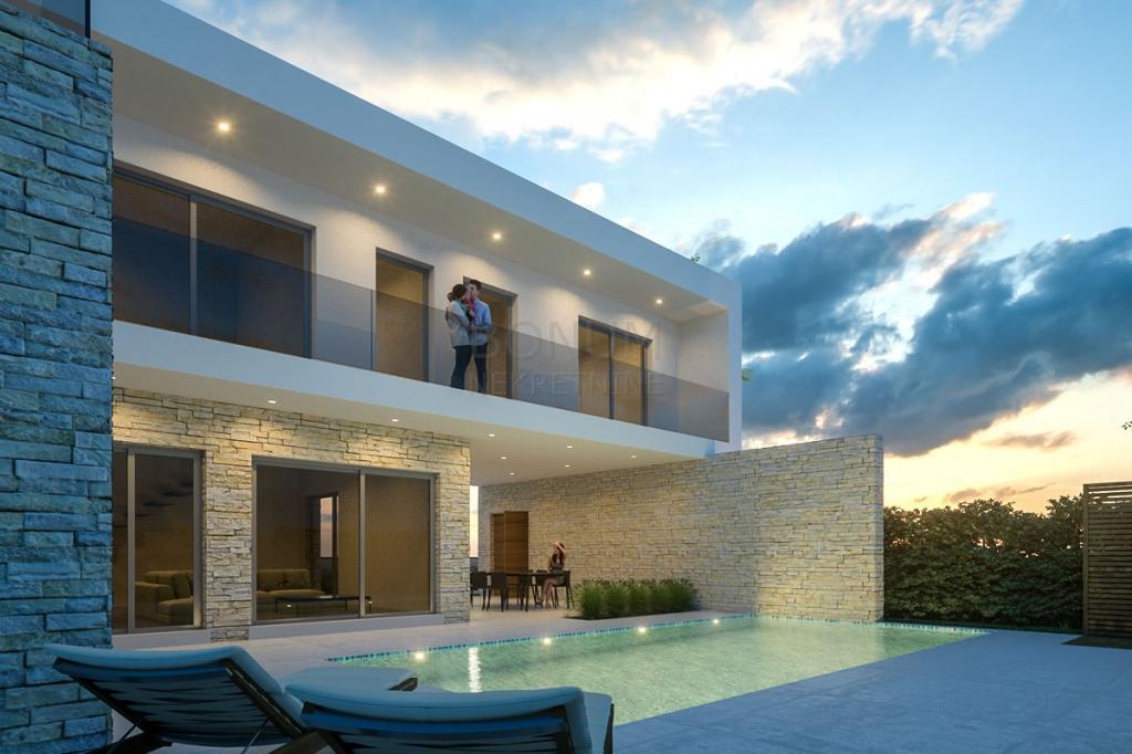Vodice, Hrvaška, prodaja luksuzna moderna vila z bazenom in čudovitim vrtom