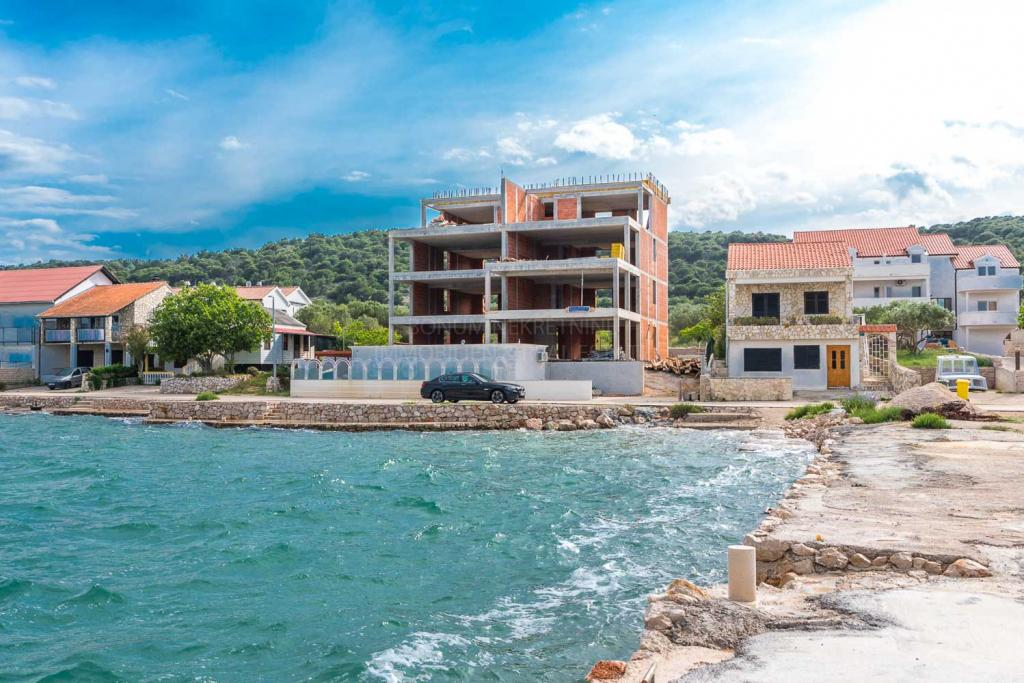 First row to the sea, luxury apartment in Murter Betina, Croatia