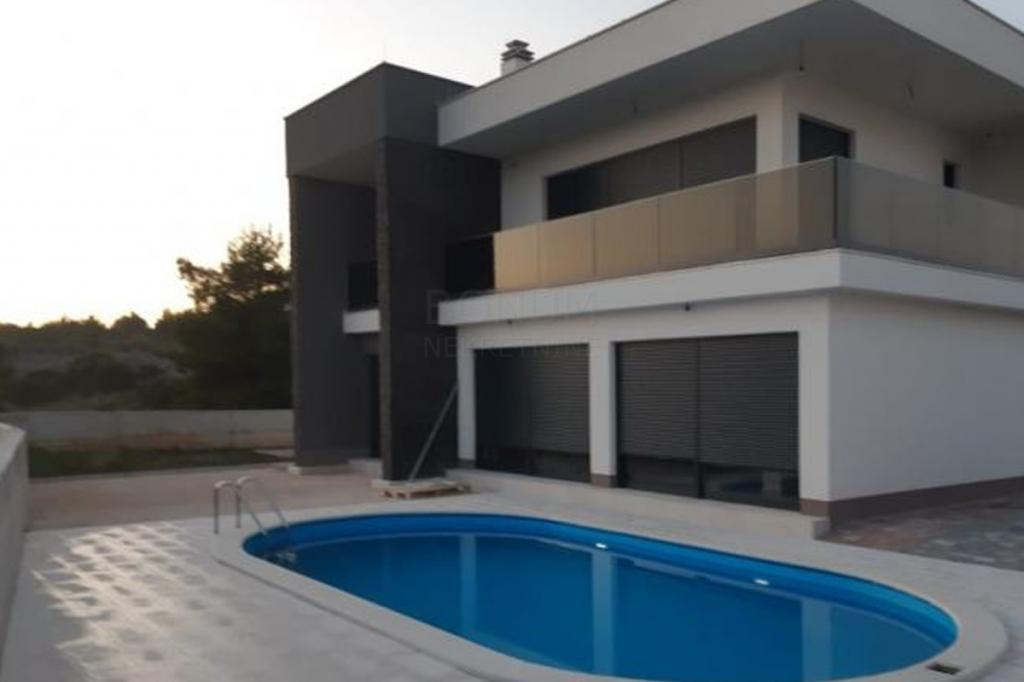 Modern villa with pool, Sibenik