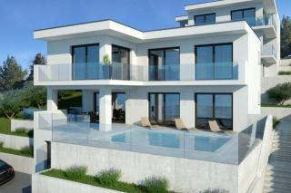 Rogoznica, Croatia Luxury villa with pool in the first row to the sea