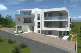 Novi, luksuzan stan s pogledom na more u blizini plaže u Žaboriću