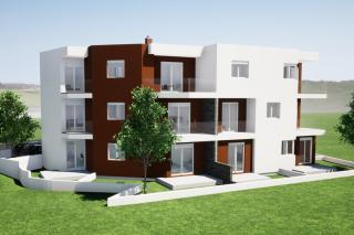 Žaborić, komforan dvosoban apartman s vrtom blizu plaže