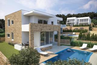 Murter, Hrvaška, novogradnja, luksuzni apartma z bazenom in panoramskim pogledom na morje, naprodaj