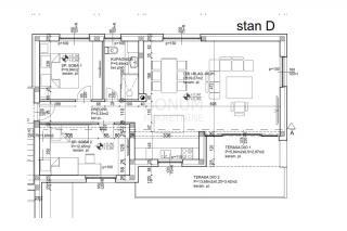 Murter, moderna gradnja, vrhunska kakovost, novo dvosobno stanovanje z lepim razgledom